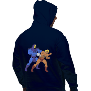 Shirts Zippered Hoodies, Unisex / Small / Navy Atomic Wedgie