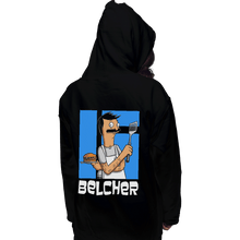 Load image into Gallery viewer, Shirts Pullover Hoodies, Unisex / Small / Black Belcher