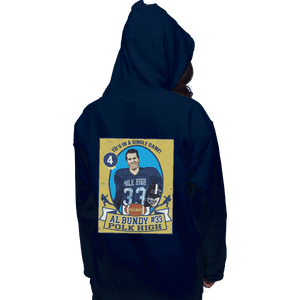 Shirts Pullover Hoodies, Unisex / Small / Navy Al Bundy Trading Card