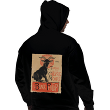 Load image into Gallery viewer, Shirts Zippered Hoodies, Unisex / Small / Black Black Goat Tour
