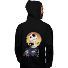 Load image into Gallery viewer, Shirts Zippered Hoodies, Unisex / Small / Black Ukiyo E Jack