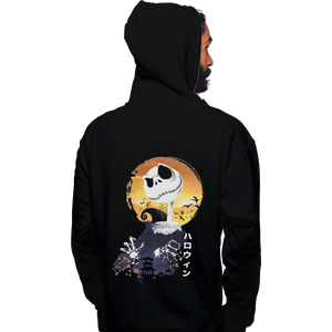 Shirts Zippered Hoodies, Unisex / Small / Black Ukiyo E Jack