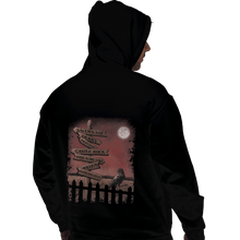 Load image into Gallery viewer, Shirts Zippered Hoodies, Unisex / Small / Black Horror Crossroads