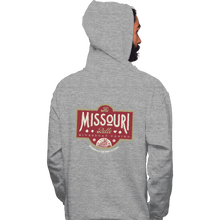 Load image into Gallery viewer, Shirts Zippered Hoodies, Unisex / Small / Sports Grey The Missouri Belle