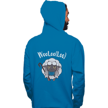 Load image into Gallery viewer, Shirts Pullover Hoodies, Unisex / Small / Sapphire Age Of Wooloo