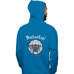 Shirts Pullover Hoodies, Unisex / Small / Sapphire Age Of Wooloo
