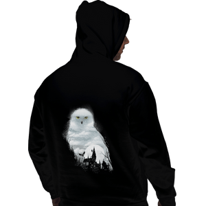 Shirts Pullover Hoodies, Unisex / Small / Black Magical Owl