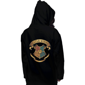 Shirts Zippered Hoodies, Unisex / Small / Black Avatar School
