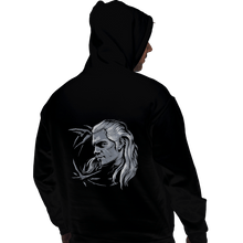 Load image into Gallery viewer, Shirts Pullover Hoodies, Unisex / Small / Black Monster Slayer