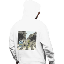 Load image into Gallery viewer, Shirts Pullover Hoodies, Unisex / Small / White Flabby Road