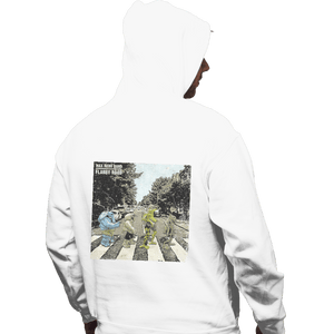 Shirts Pullover Hoodies, Unisex / Small / White Flabby Road