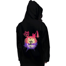 Load image into Gallery viewer, Shirts Zippered Hoodies, Unisex / Small / Black Dance Of The Summoner