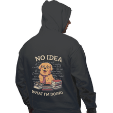 Load image into Gallery viewer, Shirts Pullover Hoodies, Unisex / Small / Charcoal No Idea