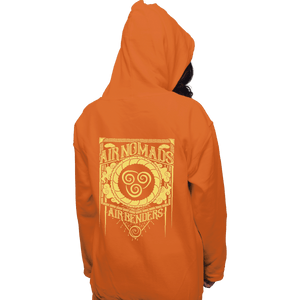 Shirts Pullover Hoodies, Unisex / Small / Orange Air Nomads