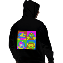 Load image into Gallery viewer, Shirts Zippered Hoodies, Unisex / Small / Black Pop NES