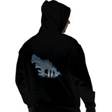 Load image into Gallery viewer, Shirts Pullover Hoodies, Unisex / Small / Black Lyanna's Feather