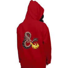 Load image into Gallery viewer, Secret_Shirts Pullover Hoodies, Unisex / Small / Red Bone Dragon Secret Sale