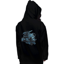 Load image into Gallery viewer, Shirts Pullover Hoodies, Unisex / Small / Black Abysswalker