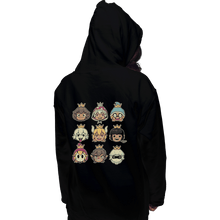 Load image into Gallery viewer, Shirts Pullover Hoodies, Unisex / Small / Black Evil Waifus