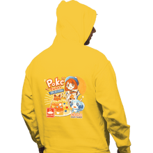Load image into Gallery viewer, Shirts Zippered Hoodies, Unisex / Small / White Poke Curry