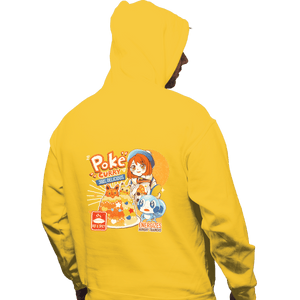 Shirts Zippered Hoodies, Unisex / Small / White Poke Curry
