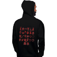Load image into Gallery viewer, Shirts Pullover Hoodies, Unisex / Small / Black ABCs Of Horror