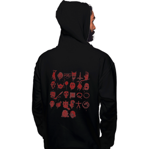 Shirts Pullover Hoodies, Unisex / Small / Black ABCs Of Horror