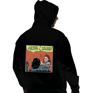 Shirts Pullover Hoodies, Unisex / Small / Black I Do Know Some Things