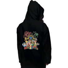 Load image into Gallery viewer, Shirts Pullover Hoodies, Unisex / Small / Black Mushroom Rangers