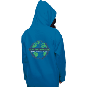 Shirts Pullover Hoodies, Unisex / Small / Sapphire Around The Globe