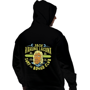Shirts Zippered Hoodies, Unisex / Small / Black Jack Kahuna Laguna