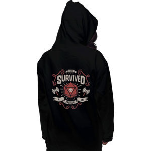 Shirts Zippered Hoodies, Unisex / Small / Black A Critical Hit