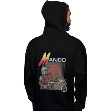 Load image into Gallery viewer, Shirts Zippered Hoodies, Unisex / Small / Black Contramando