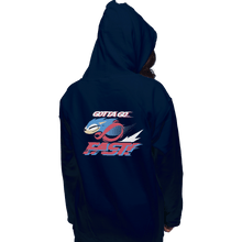 Load image into Gallery viewer, Shirts Zippered Hoodies, Unisex / Small / Navy Supersonic