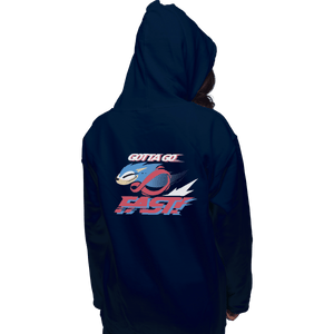 Shirts Zippered Hoodies, Unisex / Small / Navy Supersonic