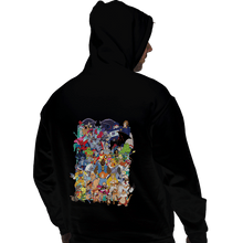 Load image into Gallery viewer, Daily_Deal_Shirts Pullover Hoodies, Unisex / Small / Black How I Spent My Saturday Mornings