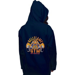 Shirts Zippered Hoodies, Unisex / Small / Navy Endeavor Gym