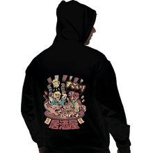 Load image into Gallery viewer, Shirts Pullover Hoodies, Unisex / Small / Black Heroes Izakaya