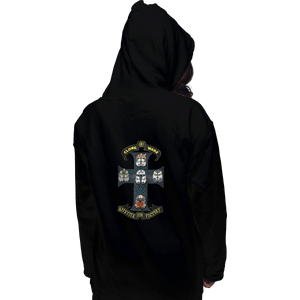 Shirts Zippered Hoodies, Unisex / Small / Black Appetite For Victory