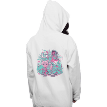 Load image into Gallery viewer, Shirts Pullover Hoodies, Unisex / Small / White A N I M E W A V E
