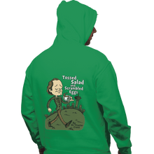 Load image into Gallery viewer, Shirts Pullover Hoodies, Unisex / Small / Irish Green Tossed Salad And Scrambled Eggs