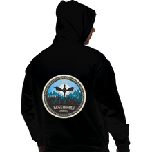 Load image into Gallery viewer, Shirts Pullover Hoodies, Unisex / Small / Black Legendary Journey