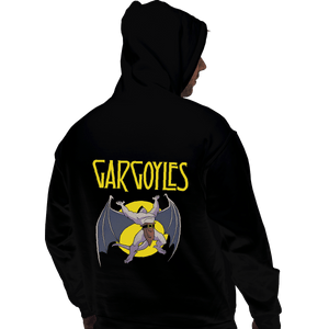 Shirts Zippered Hoodies, Unisex / Small / Black Led Gargoyles
