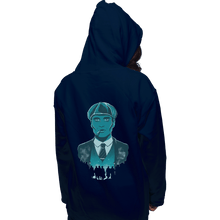 Load image into Gallery viewer, Shirts Zippered Hoodies, Unisex / Small / Navy The Leader