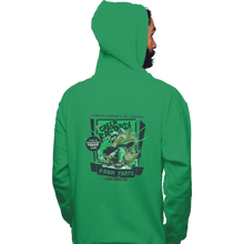 Load image into Gallery viewer, Shirts Zippered Hoodies, Unisex / Small / Irish Green The Green Bastard