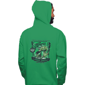 Shirts Zippered Hoodies, Unisex / Small / Irish Green The Green Bastard