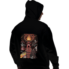 Load image into Gallery viewer, Shirts Pullover Hoodies, Unisex / Small / Black Hand Of Doom