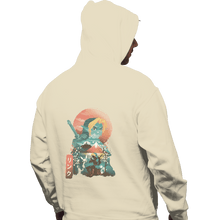 Load image into Gallery viewer, Shirts Zippered Hoodies, Unisex / Small / White Ukiyo Ocarina