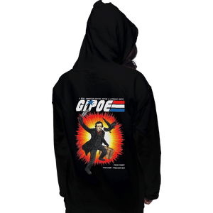 Shirts Zippered Hoodies, Unisex / Small / Black GI Poe