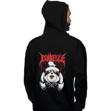Load image into Gallery viewer, Shirts Pullover Hoodies, Unisex / Small / Black Crossing Over
